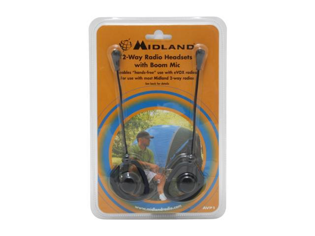 MIDLAND AVP-1 Headset for ALL Midland Extra-Talk & G-Series Radios