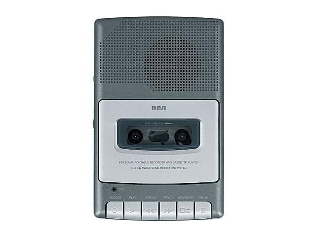 RCA RP3504 Compact Shoebox Cassette Recorder