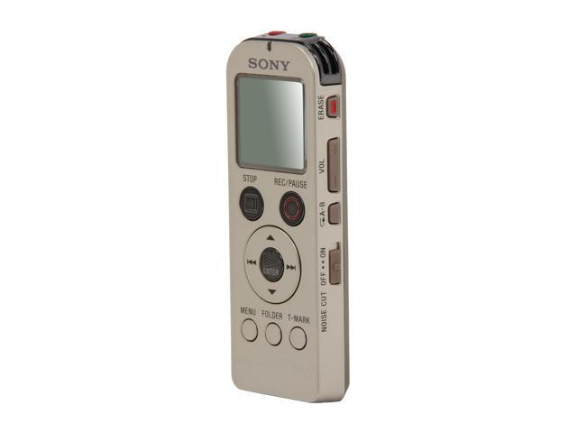 SONY ICD-UX523/G USB PC Interface Digital Flash Voice Recorder - Gold