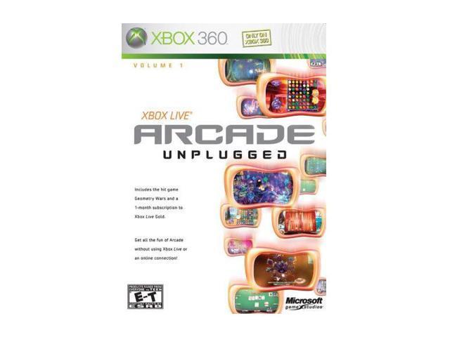 Arcade Unplugged Xbox 360 Game