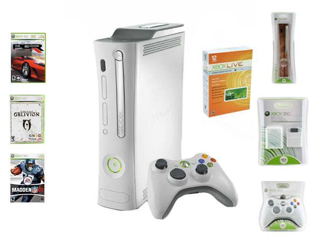 Microsoft Xbox 360 Premium Holiday Bundle 20 GB Hard drive White