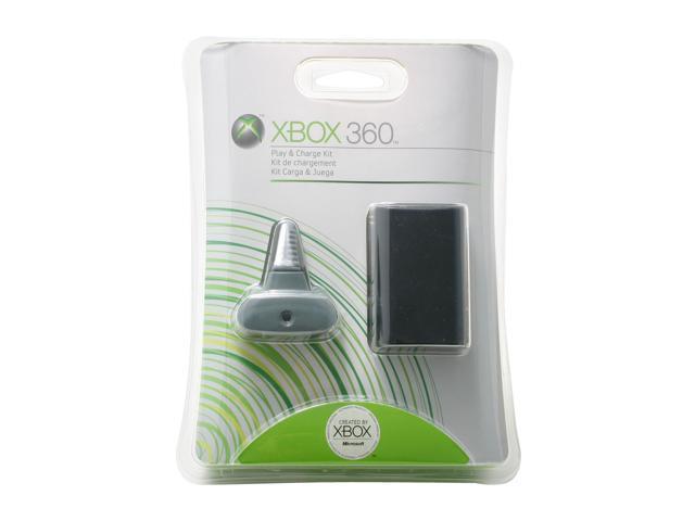 Microsoft Xbox 360 Play & Charge Kit - Black