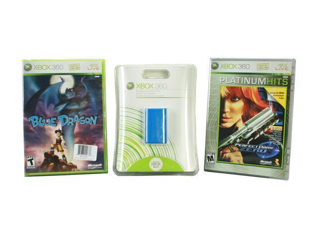 Perfect Dark Zero/Blue Dragon/XBOX 360 Rechargeable Battery Pack Blue Perfect Dark Zero/Blue Dragon/XBOX 360 Rechargeable Battery Pack Blue