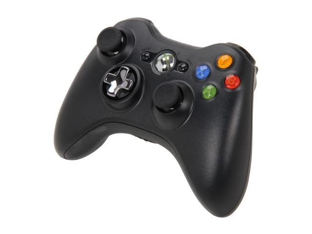 Xbox 360 Wireless Controller with Play & Charge Kit Black