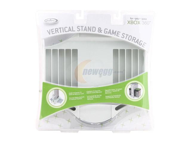 Intec XBOX 360 Vertical Stand with Game & Memory Storage