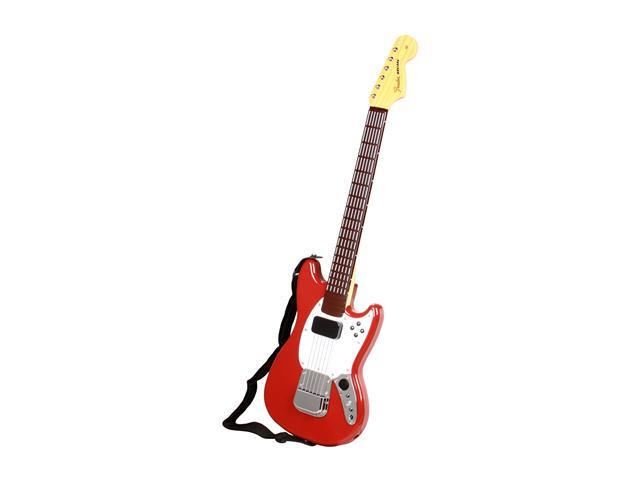Mad Catz Xbox 360 Rock Band 3 Wireless Mustang Guitar Controller Red
