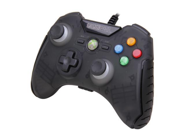 MADCATZ Officially licensed F.P.S. Pro Wired GamePad for Xbox 360 - Stealth Black