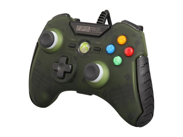 Mad Catz Officially licensed F.P.S. Pro Wired GamePad for Xbox 360 - Army Green