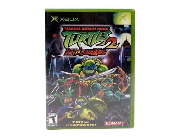 Teenage Mutant Ninja Turtles 2 XBOX Game KONAMI