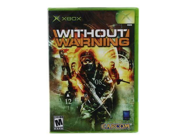 Without Warning XBOX Game CAPCOM