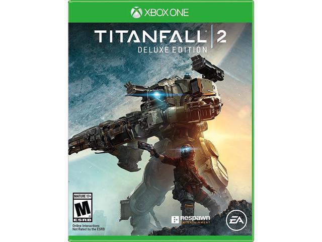 Xbox One Titanfall Edition Box Titanfall 2 Deluxe Edi...