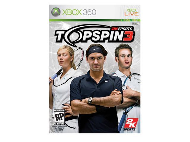 Top Spin 3 Xbox 360 Game
