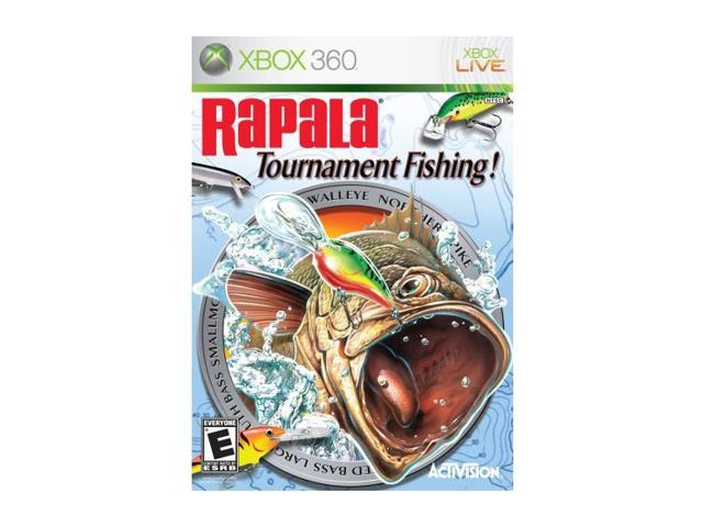 Rapala tournament fishing xbox 360 game for Fishing games for xbox 360