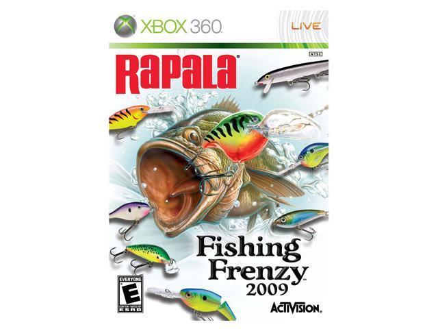 Rapala fishing frenzy xbox 360 game for Xbox 360 fishing games