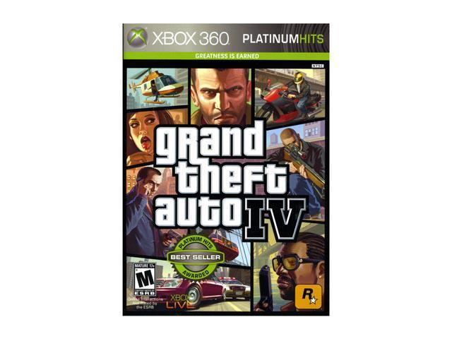 Grand Theft Auto IV Xbox 360 Game