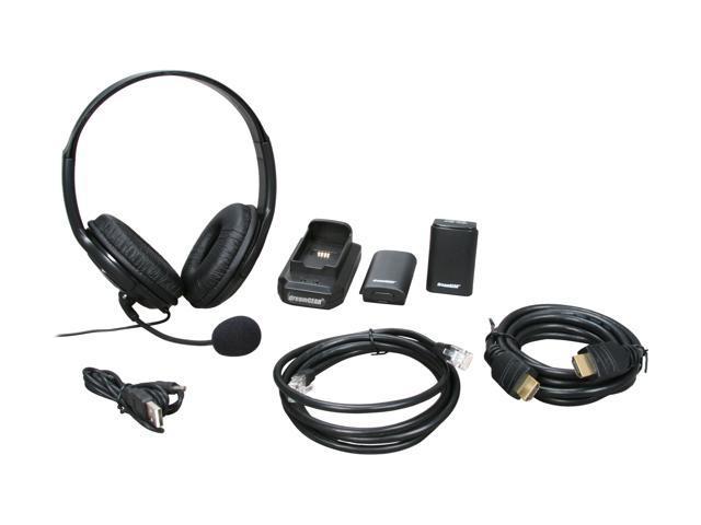 dreamGEAR XBOX 360 6 in 1 Starter Kit Black
