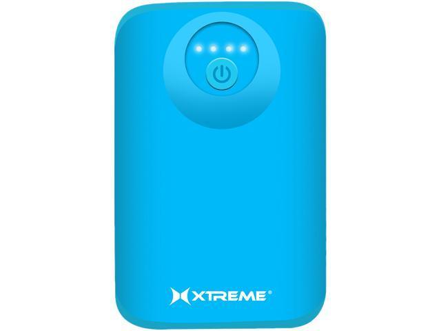 Xtreme Blue 5200 mAh Dual Port Power Bank 89442