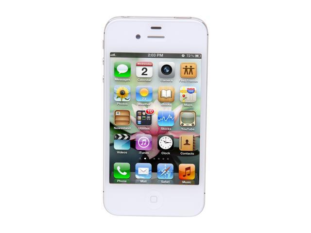 Apple iPhone 4S 16GB White 3G Cell Phone w/ 8 MP Camera / A5 Processor For AT&T (MC920LL/A)