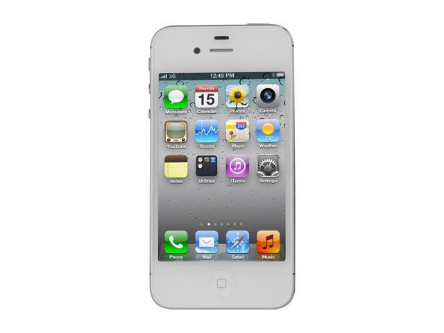Apple iPhone 4S 16GB White 3G Unlocked GSM Smart Phone / HD Video Recording / Intelligent Assistant Siri (MD237LL/A)