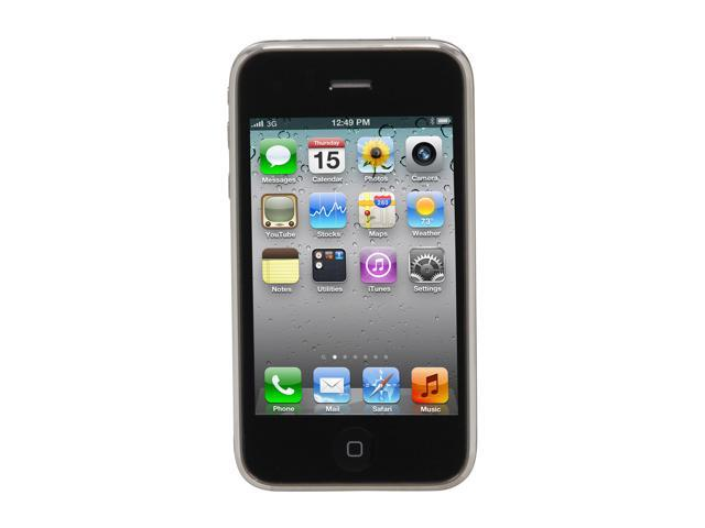 """Apple iPhone 3GS 8GB MC640LL/A 8GB storage, 256 MB RAM Cell Phone For AT&T Service Only 3.5"""" Black"""