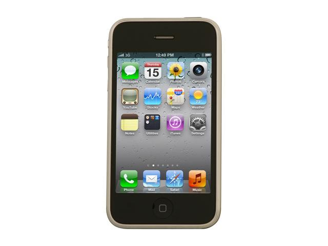 "Apple iPhone 3GS MC637HN/A 8 GB storage, 256 MB RAM 8GB Unlocked GSM Smart Phone 3.5"" Black"