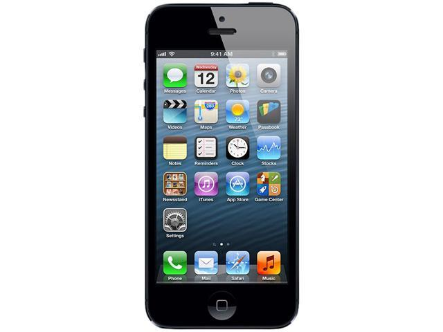 Apple iPhone 5 MD654LL/A Black 3G 4G LTE Smart Phone with 4