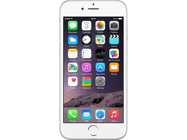Apple iPhone 6 16GB 4G LTE Silver Unlocked GSM 8 MP Camera Smartphone, B+ Grade Condition 4.7