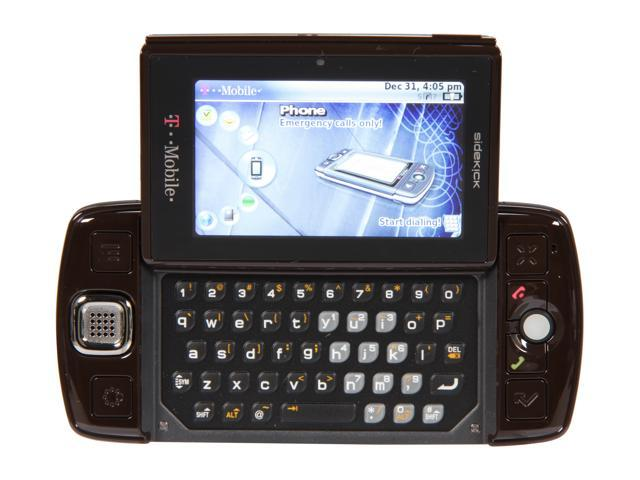 "T-Mobile Sidekick LX 64 MB RAM, 64 MB ROM Unlocked GSM Smart Phone with Full QWERTY Keyboard 3.0"" Brown"
