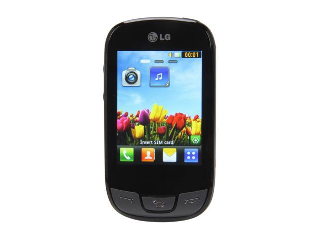 LG Cookie Duo T515 Black Unlocked Dual SIM GSM Touch Screen Phone w/ WiFi / Bluetooth