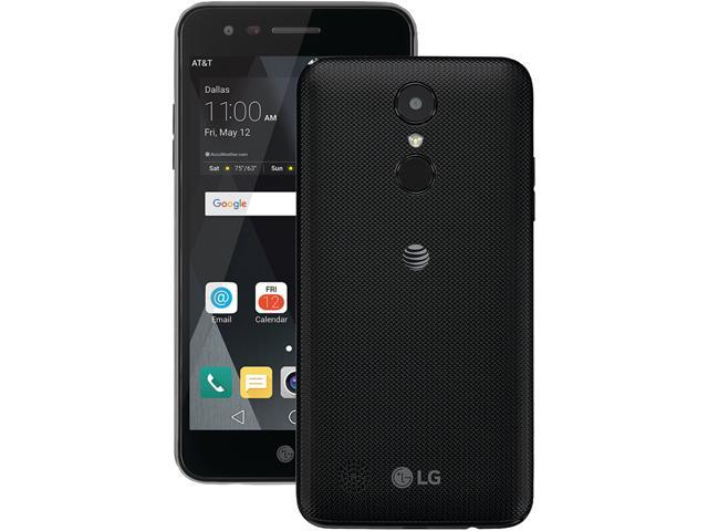 lg phone black. at\u0026t gophone - lg phoenix 3 cell phone black lg