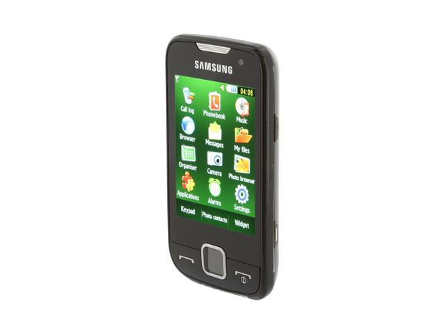 Samsung Star Black unlocked GSM smart phone with 2.8