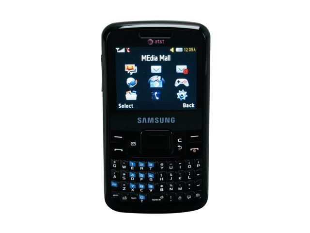 "Samsung SGH-A177 64 MB Unlocked GSM Bar Phone with Full QWERTY Keyboard / Bluetooth with Stereo 2.2"" Black"