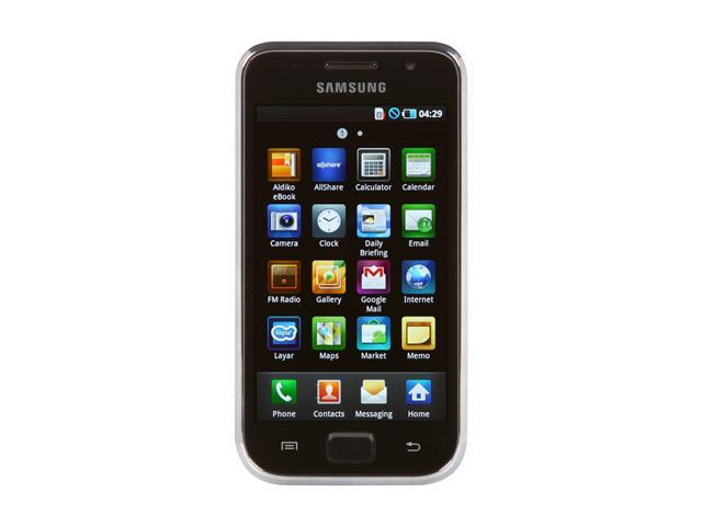 "Samsung Galaxy S I9000 8GB 8GB Unlocked GSM Smart Phone w/ 5.0 MP Camera, Auto focus / WiFi / GPS / 8GB Storage 4.0"" Black"