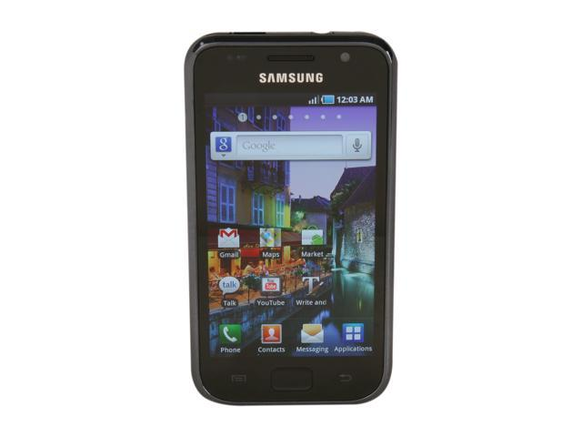 Samsung Galaxy S Black Unlocked GSM Smart Phone w/ 5.0 MP Camera, Auto focus / WiFi / GPS / 16GB Storag (I9000)