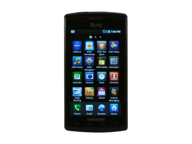 Samsung Captivate Black 3G Unlocked Smart Phone w/ 5.0MP Camera, Auto Focus / Wi-Fi / GPS / 16GB Storage (SGH-i897)
