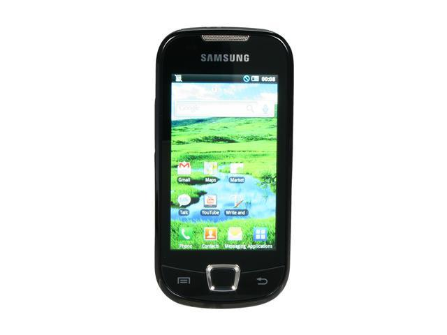 "Samsung Galaxy 3 I5800 512MB ROM, 256MB RAM Unlocked GSM Smart Phone with Touch Screen 3.2"" Black"