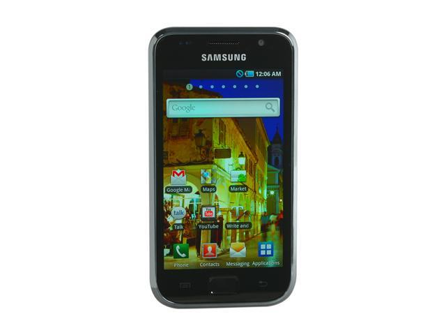 "Samsung Galaxy S i9000T 8GB 8GB Unlocked Smart Phone with AMOLED Display 4.0"" Black"