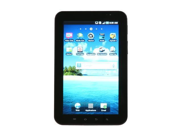 "Samsung Galaxy Tab SGH-T849 512MB (ROM) + 512MB (RAM) + 128MB (One D-RAM) + 16GB (Internal User Memory) 16GB Tab w/ 7"" Touch ..."