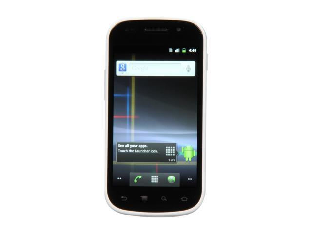Samsung Google Nexus S i9020A White 3G Unlocked Cell Phone