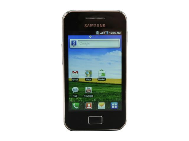 Samsung Galaxy Ace White 3G Unlocked Cell Phone w/ Android OS / 3.5