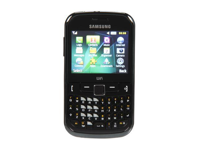 Samsung  Black Unlocked Cell Phone w/ Bluetooth v2.1 / Full QWERTY Keyboard (S3350)