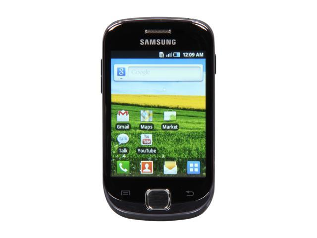 Samsung Galaxy Fit S5670 160 MB, 280 MB RAM Unlocked GSM Android Smart Phone w/ 5.0 MP Camera / Wi-Fi / GPS / Bluetooth v2.1 ...