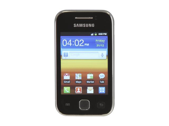 Samsung Galaxy Y GT-S5360 Metallic Gray Unlocked GSM Android Smart Phone w/ 2 MP Camera / 3.0