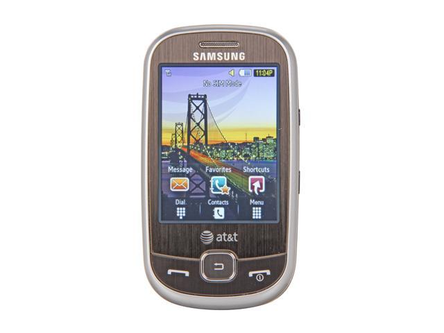 Samsung Flight Silver 3G Unlocked GSM Slider Phone w/ A-GPS / 2.8
