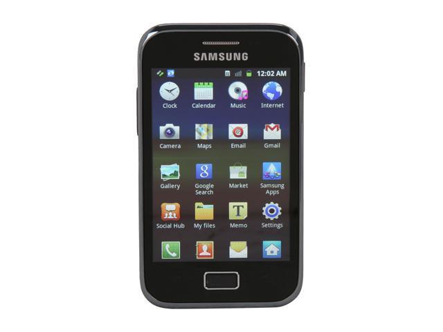 Samsung Galaxy Ace Plus GT-S7500 Black Unlocked Cell phone