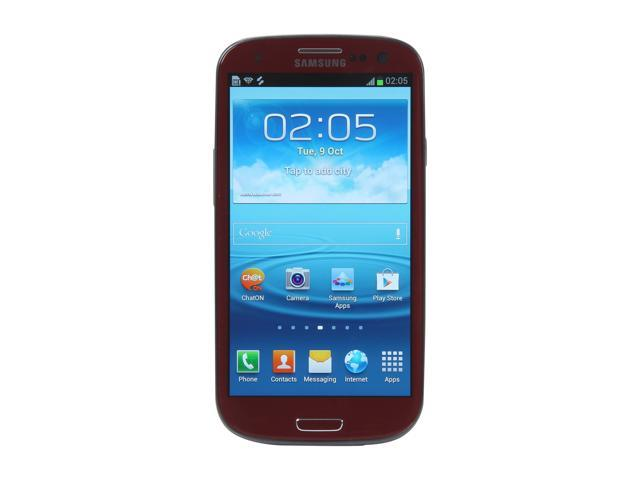 Samsung Galaxy S III 16GB Red 3G Unlocked Android GSM Smart Phone with S Voice / Smart Stay / Direct Call (i9300)
