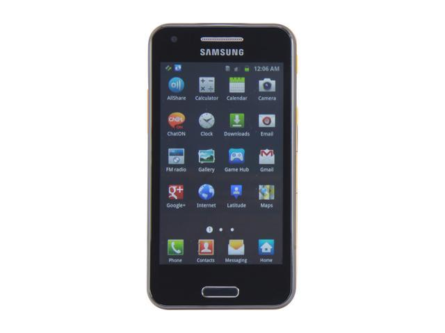 Samsung Galaxy Beam i8530 Ebony Gray 3G 8GB Unlocked Cell Phone Built-In Projector