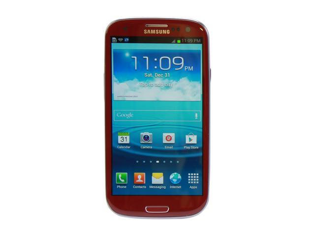 Samsung Galaxy S III SGH-i747 Red 4G AT&T Cell Phone