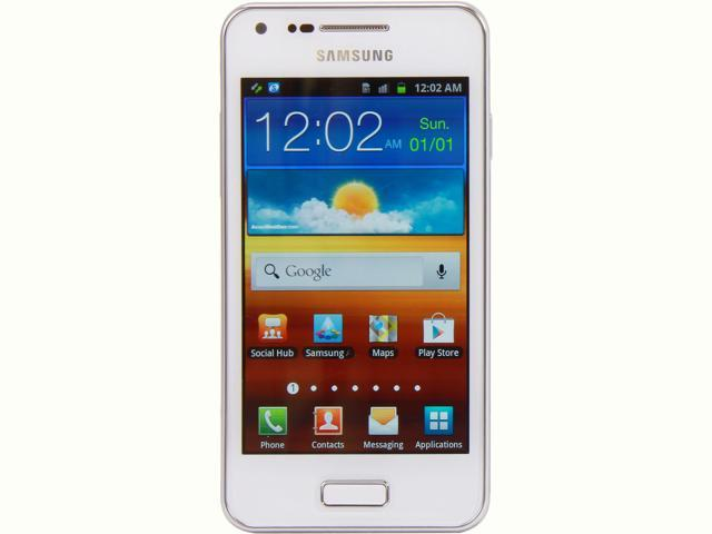 Samsung Galaxy S Advance i9070 White 3G 8GB Unlocked GSM Android Cell Phone