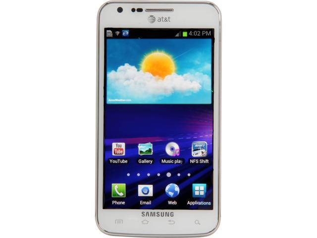 Samsung Galaxy S II Skyrocket SGH-I727 White 4G LTE Dual-Core 1.5 GHz 16GB Unlocked GSM Cell Phone
